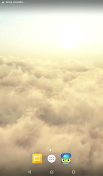 Sky Clouds Live HD Wallpaper poster