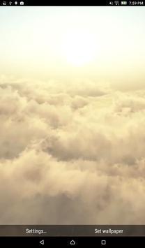 Sky Clouds Live HD Wallpaper apk screenshot
