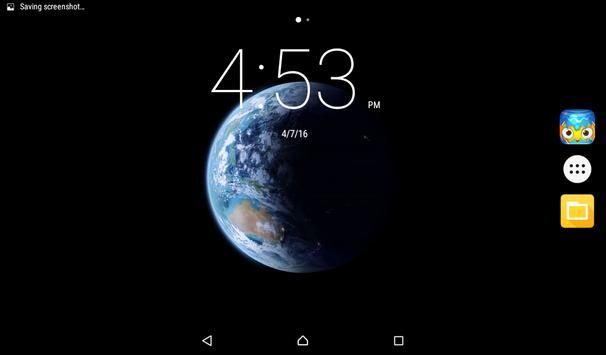 Planet Earth Live Wallpaper apk screenshot
