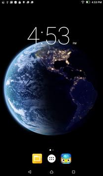 Planet Earth Live Wallpaper poster