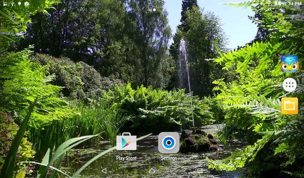 Garden Live Wallpaper apk screenshot