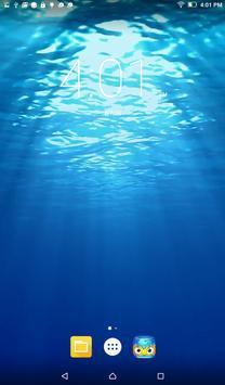 Open Ocean Live Wallpaper poster