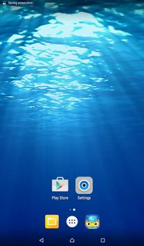 Open Ocean Live Wallpaper apk screenshot