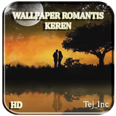 Wallpaper Romantis Keren Full HD Quality icon