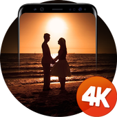 Romantic wallpapers 4k icon