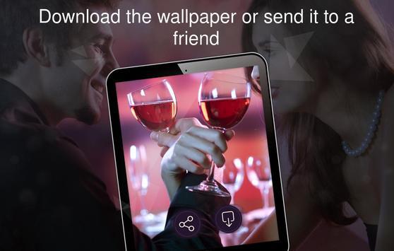 Romantic wallpapers 4k apk screenshot