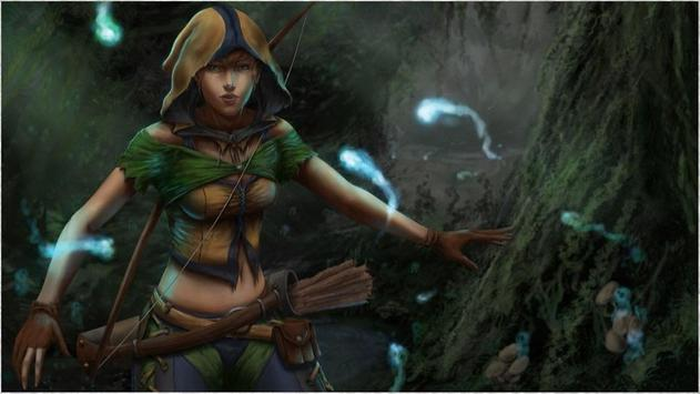 1080p Fantasy Archer Photos apk screenshot