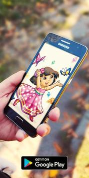 Cartoon Dora HD Collection Wallpaper screenshot 2