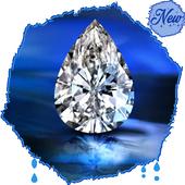 HD Shiny Diamond Wallpapers - Gold icon