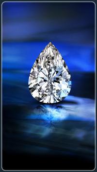 HD Shiny Diamond Wallpapers - Gold screenshot 1