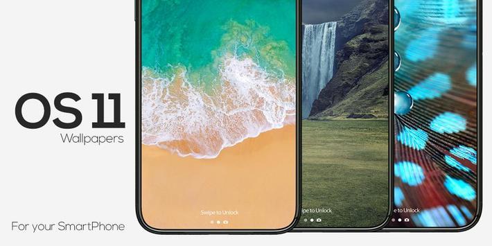 OS11 Wallpaper and Backgrounds apk screenshot