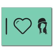 Love postcards icon