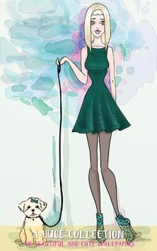 Stylish Girl Molly Wallpapers apk screenshot