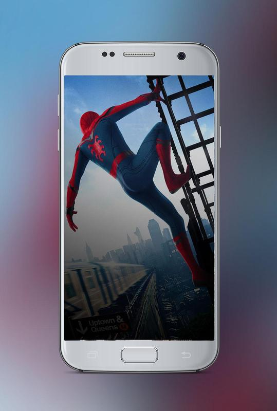 spidey homecoming wallpapers hd for android apk download