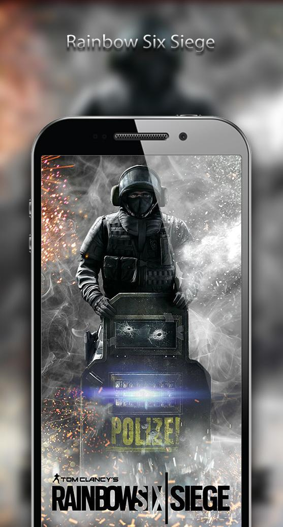 Rainbow Six Siege Game Mobile R6s Wallpaper For Android