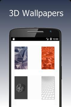 3D Wallpapers screenshot 1