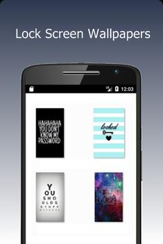 Lock Screen Wallpapers apk screenshot