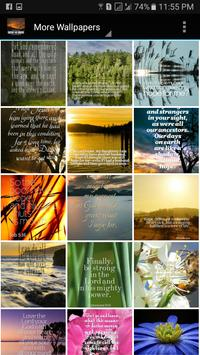 Daily Bible Verses Wallpaper poster