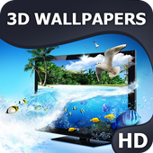 3D Wallpapers HQ icon