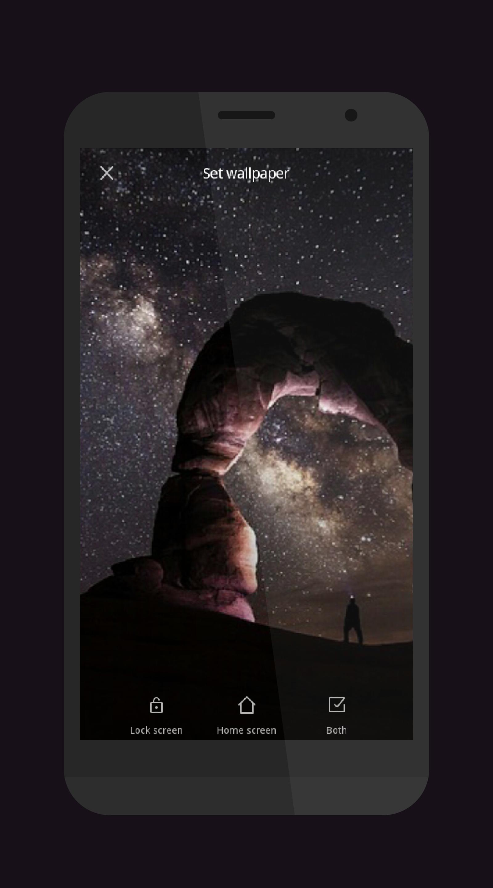 Night Sky Stars Wallpapers 4k For Android Apk Download