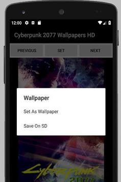 Cyberpunk 2077 Wallpapers HD screenshot 2