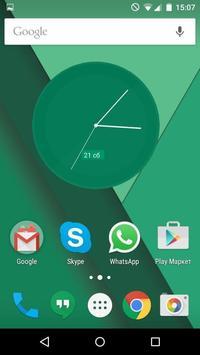Material Clocks Free screenshot 2