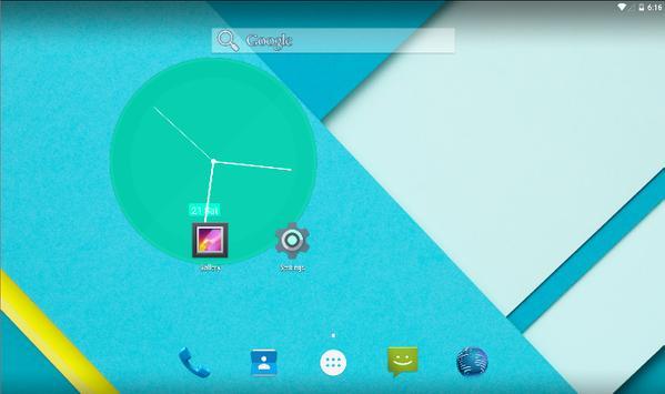 Material Clocks Free screenshot 4