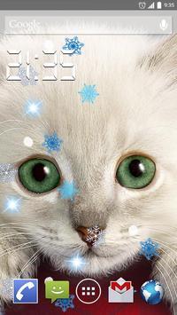 Chirstmas Cats 4K Live Wallpap poster