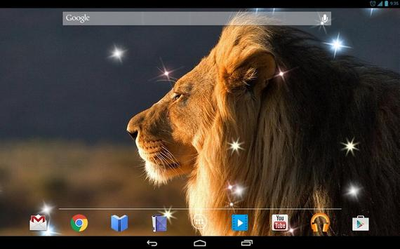 Gorgeous Lion 4K Live Wallpap apk screenshot