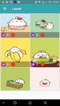 Cute Wallpapers Kawaii backgrounds screenshot 3
