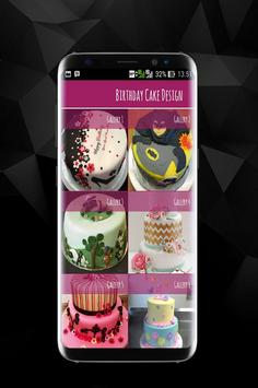 Birthday Cake Decorations Design poster