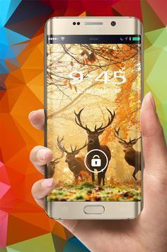 Deer Wallpapers 8K poster