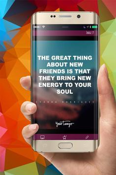 Friendship Wallpaper Quotes apk screenshot
