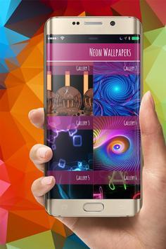 Neon Wallpapers 8K poster