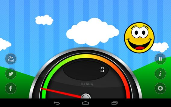 Too Noisy Lite apk screenshot