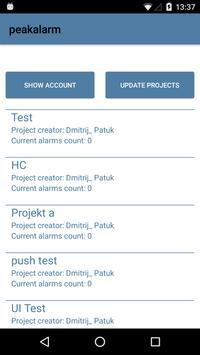 peakalarm screenshot 2