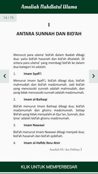 Amaliah Nahdlatul Ulama screenshot 2