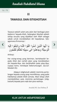 Amaliah Nahdlatul Ulama screenshot 3