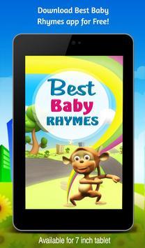 Best Baby Rhymes apk screenshot