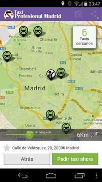 Taxi Profesional Madrid screenshot 1