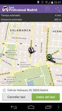 Taxi Profesional Madrid screenshot 4