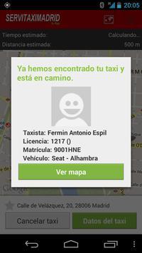 Servitaxi Madrid screenshot 3