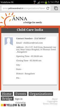 AnnA - Bridging rice for needy apk screenshot