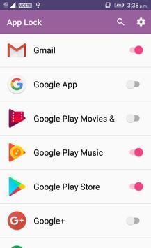 Master App Locker Pro screenshot 1