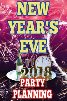 New Year's Eve Party Planning poster