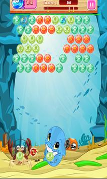 Bubble Shooter : Baby Sharks Pop poster