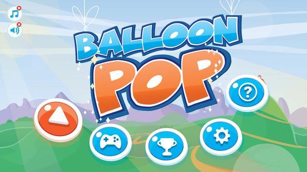 Balloon Pop Kids Edition poster