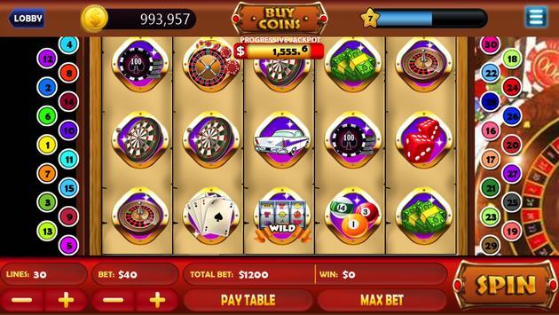 Vegas VIP Grand Slots Machines poster