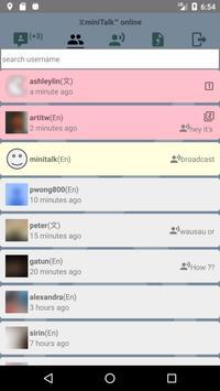 miniTalk™ screenshot 1