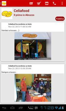 Celiafood apk screenshot